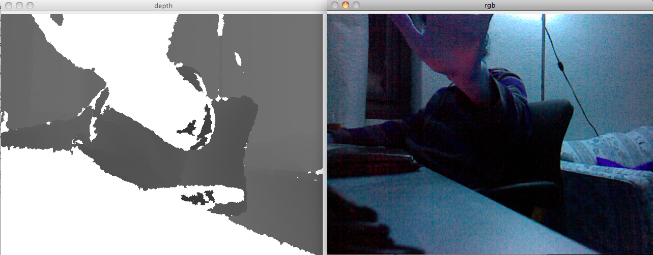 Kinect and OpenCV 2 1 | More Than Technical